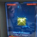 Star Trek the Game on Vectrex