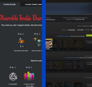 Steam Trading Cards can be sold on the market for steam wallet dollars